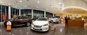 Автомобильный салон Lexus